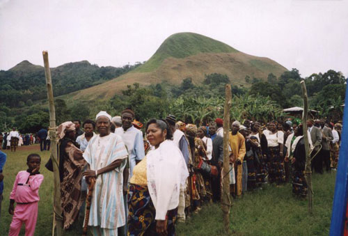 Mass screening for HIV-AIDS in Baba II village